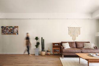 80平米三室两厅日式风格客厅装修效果图