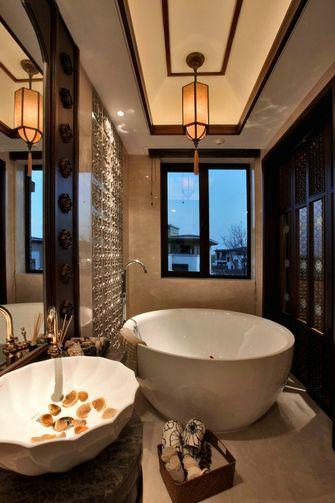 110平米三室一厅东南亚风格卫生间设计图