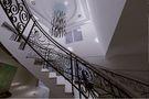 140平米混搭风格楼梯装修图片大全