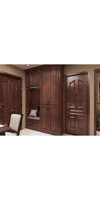 110平米三美式风格卧室装修效果图