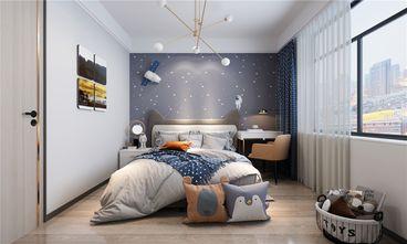 140平米四室两厅现代简约风格儿童房设计图