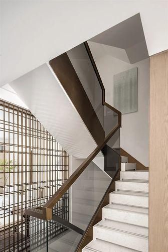 140平米三室五厅混搭风格楼梯间装修效果图