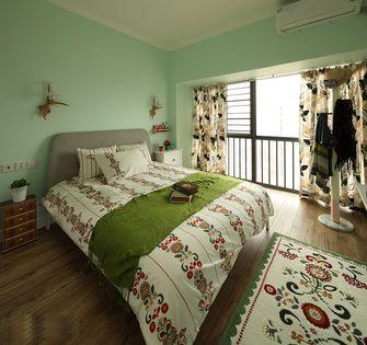 100平米三室一厅田园风格卧室图片