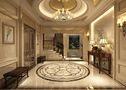 20万以上140平米别墅欧式风格玄关灯饰图片大全