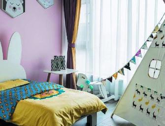 120平米三室两厅美式风格儿童房设计图