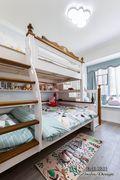 10-15万120平米三室一厅混搭风格儿童房装修案例