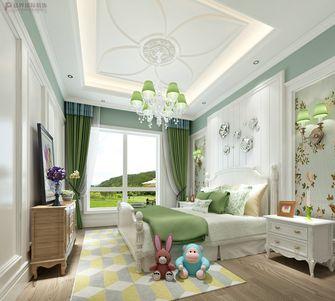 130平米复式欧式风格儿童房图