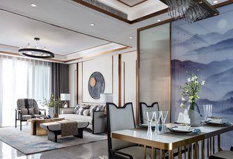 110平米三室三厅中式风格餐厅效果图