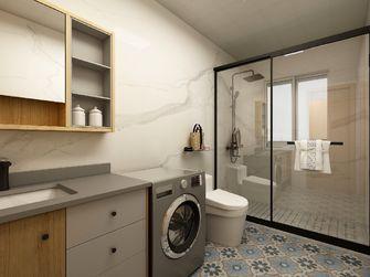100平米三室两厅日式风格卫生间效果图
