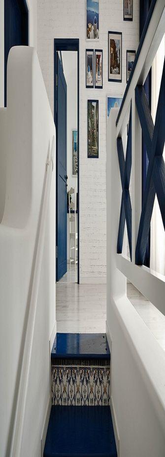 富裕型120平米三室两厅地中海风格走廊装修图片大全