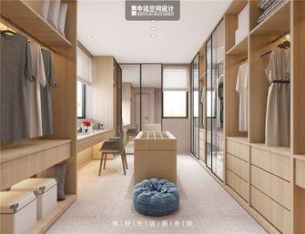 140平米别墅日式风格衣帽间装修案例
