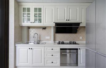 120平米三室两厅田园风格厨房欣赏图