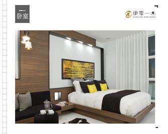 富裕型100平米公寓英伦风格卧室欣赏图
