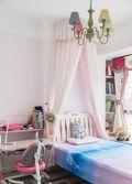 110平米三室一厅现代简约风格儿童房装修效果图