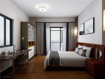 100平米三室两厅中式风格卧室图