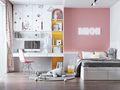 100平米三室两厅中式风格儿童房效果图