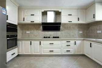 10-15万110平米三室两厅美式风格厨房设计图
