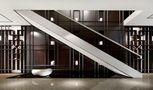 豪华型140平米别墅中式风格楼梯装修效果图