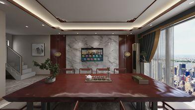 60平米一居室中式风格客厅图