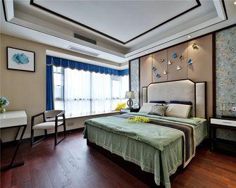 120平米三室两厅中式风格卧室效果图
