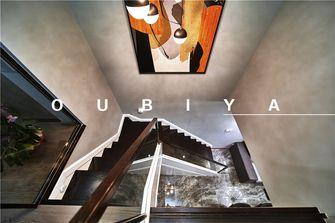 110平米复式现代简约风格楼梯间装修案例