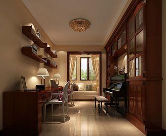 5-10万130平米三室两厅田园风格影音室图