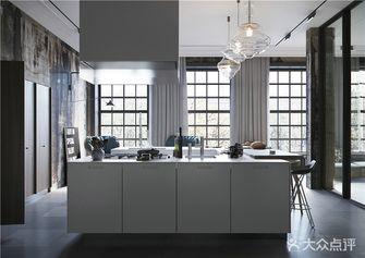 130平米四室两厅现代简约风格厨房图片