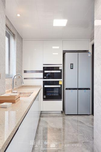 15-20万140平米三室两厅现代简约风格厨房设计图