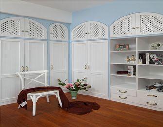 130平米三室两厅地中海风格储藏室装修图片大全