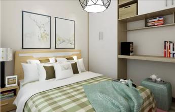70平米一居室现代简约风格卧室效果图