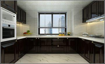 140平米三中式风格厨房设计图