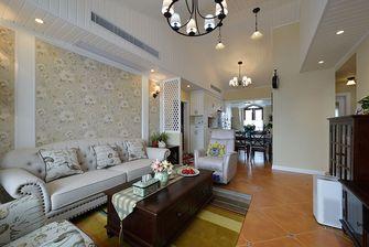 10-15万80平米美式风格客厅图