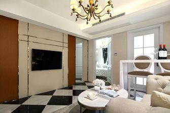 80平米一室两厅欧式风格客厅效果图