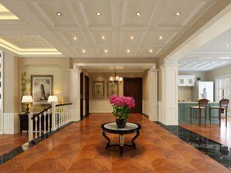 20万以上140平米别墅英伦风格走廊欣赏图