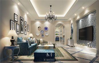 80平米地中海风格客厅欣赏图