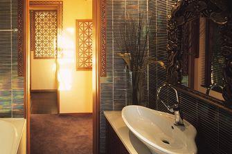 100平米三室两厅东南亚风格卫生间装修图片大全