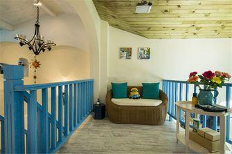20万以上100平米三室两厅地中海风格阁楼装修效果图
