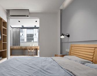 5-10万100平米三室一厅北欧风格卧室装修图片大全