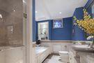 80平米三室两厅美式风格卫生间背景墙装修效果图