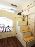 70平米三室一厅地中海风格儿童房装修效果图