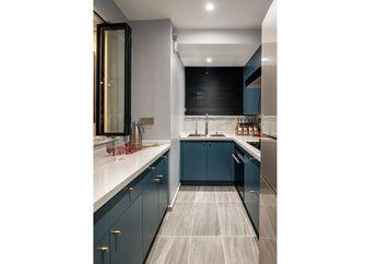 80平米三室一厅新古典风格厨房设计图