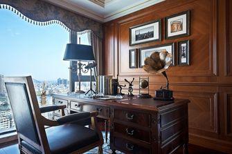 120平米四室两厅欧式风格书房欣赏图