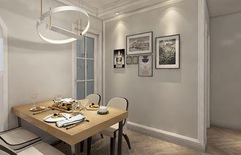 110平米美式风格餐厅装修案例