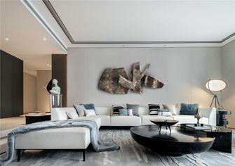 110平米三室两厅中式风格客厅图片