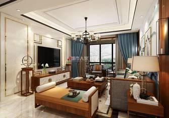 130平米三室三厅中式风格客厅效果图