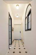 90平米三室两厅法式风格玄关装修图片大全