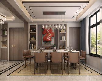 140平米三现代简约风格餐厅装修图片大全