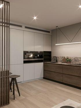 110平米三室兩廳現代簡約風格廚房裝修效果圖
