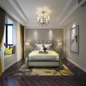 140平米三室两厅法式风格卧室图