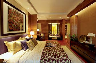 3万以下140平米四室五厅现代简约风格卧室图